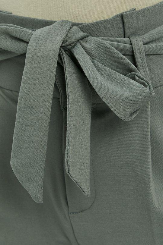 oceľová zelená Vero Moda - Nohavice