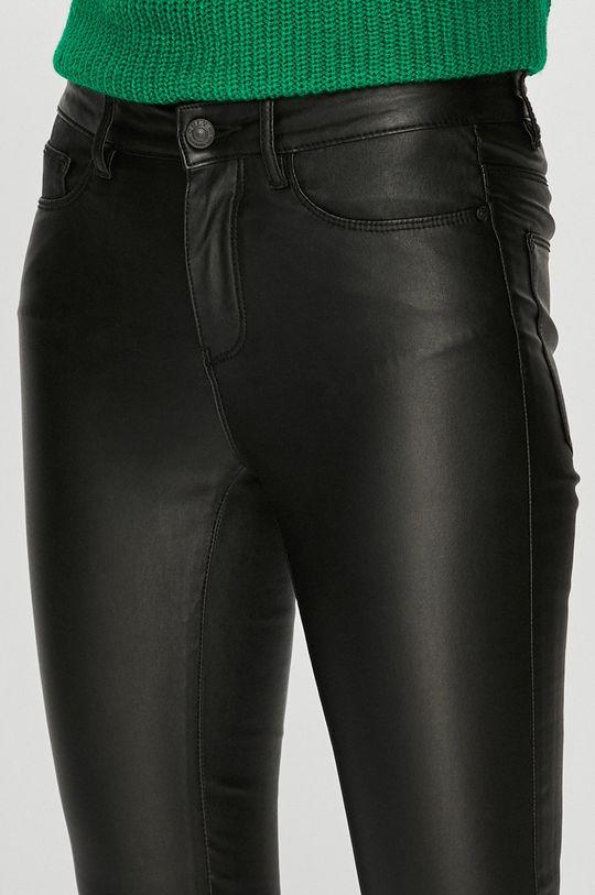 černá Only - Kalhoty Anne