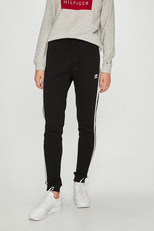 черен adidas Originals - Панталони Жіночий