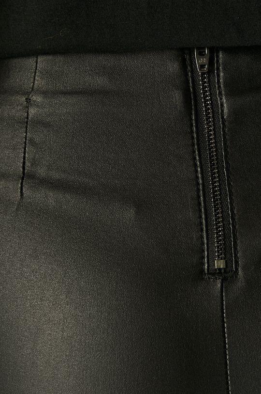 czarny Vila - Spodnie Commit