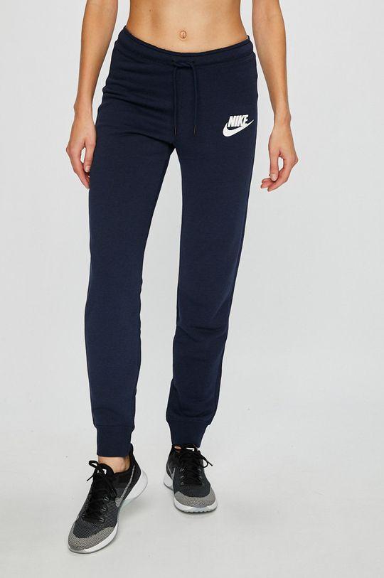 námořnická modř Nike Sportswear - Kalhoty Dámský