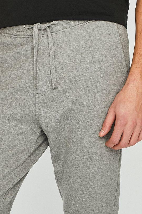 šedá Calvin Klein Jeans - Kalhoty