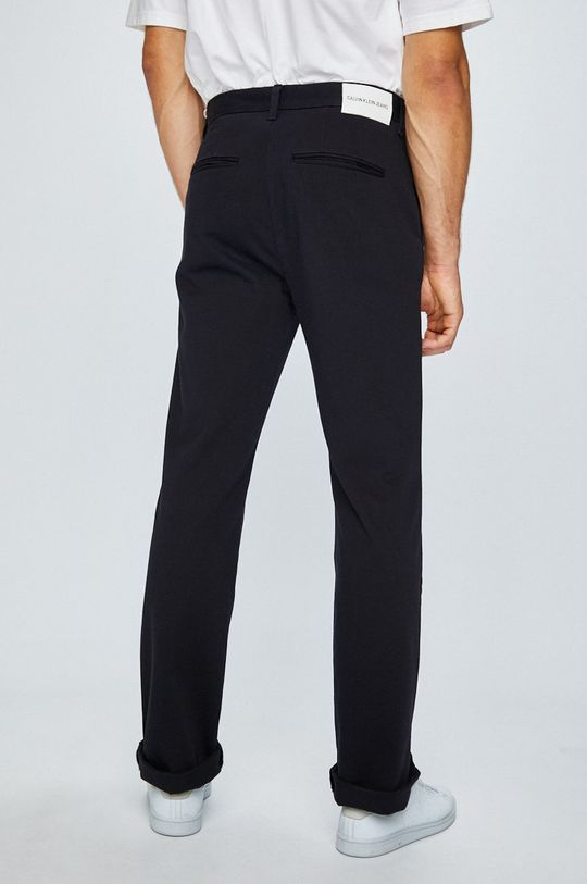 Calvin Klein Jeans - Pantaloni Materialul de baza: 68% Bumbac, 20% Poliamida, 12% Poliester