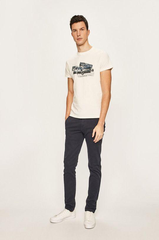 Pepe Jeans - Pantaloni Charly bleumarin