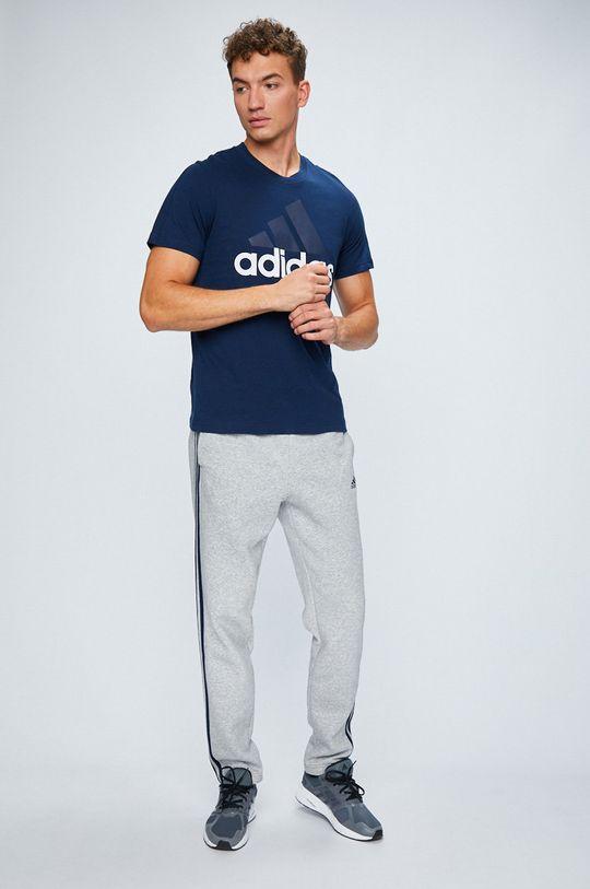 adidas Performance - Nohavice sivá