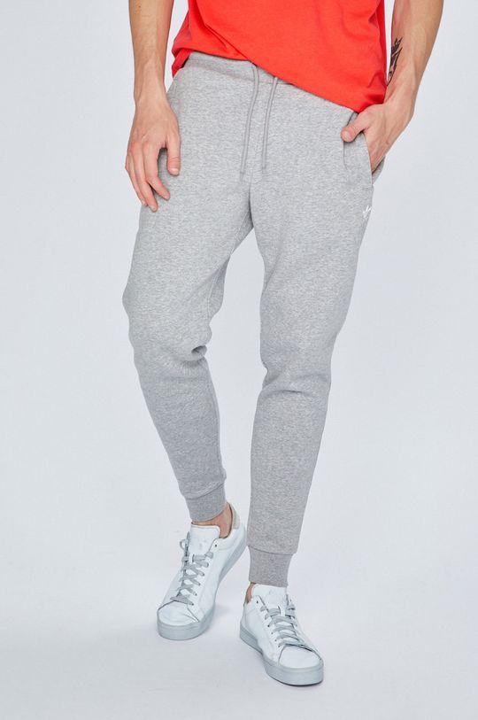 šedá adidas Originals - Kalhoty Pánský