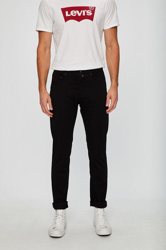 černá Pierre Cardin - Kalhoty Pánský