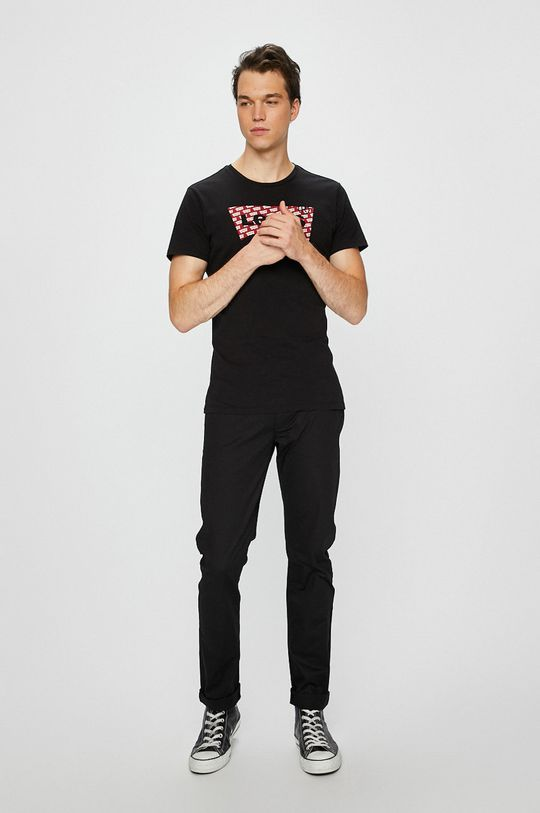 Armani Exchange - Nohavice čierna