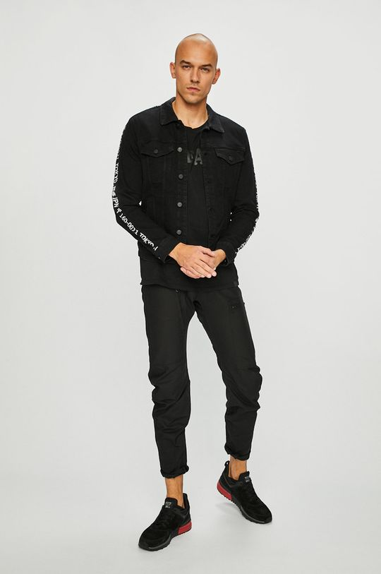 G-Star Raw - Pantaloni Powel 3D negru