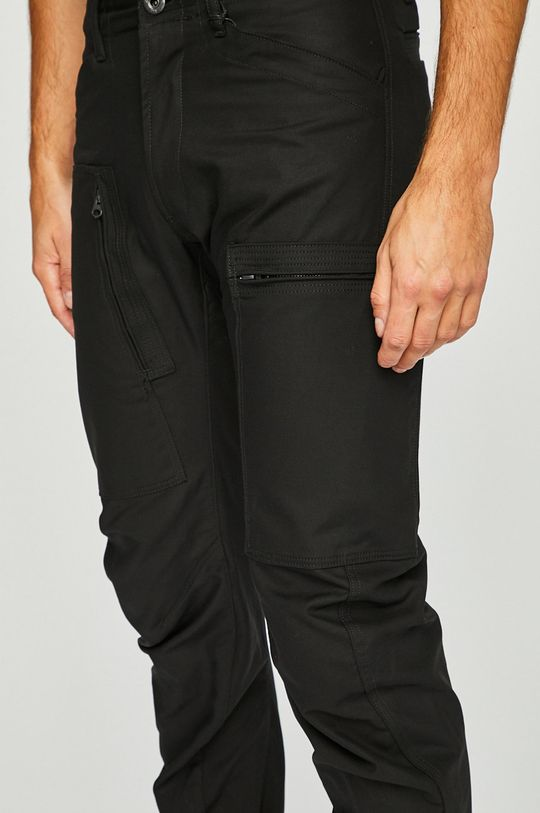 negru G-Star Raw - Pantaloni Powel 3D