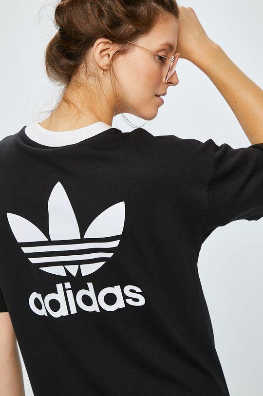 черен adidas Originals - Рокля