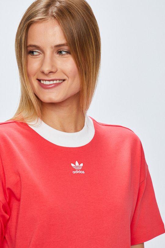 розов adidas Originals - Рокля