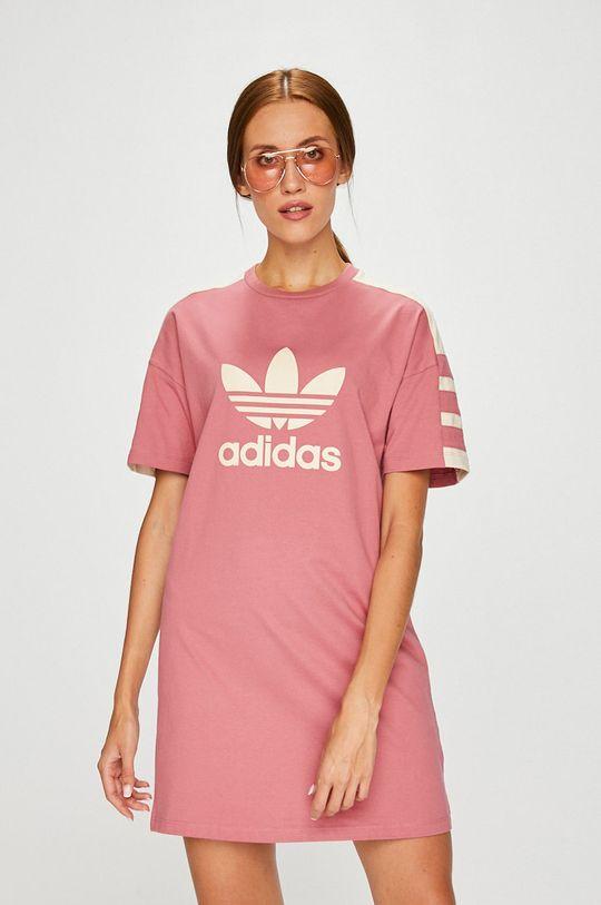 розов adidas Originals - Рокля Жіночий