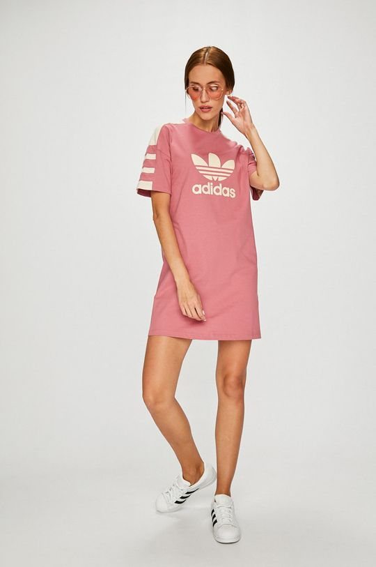 adidas Originals - Рокля розов
