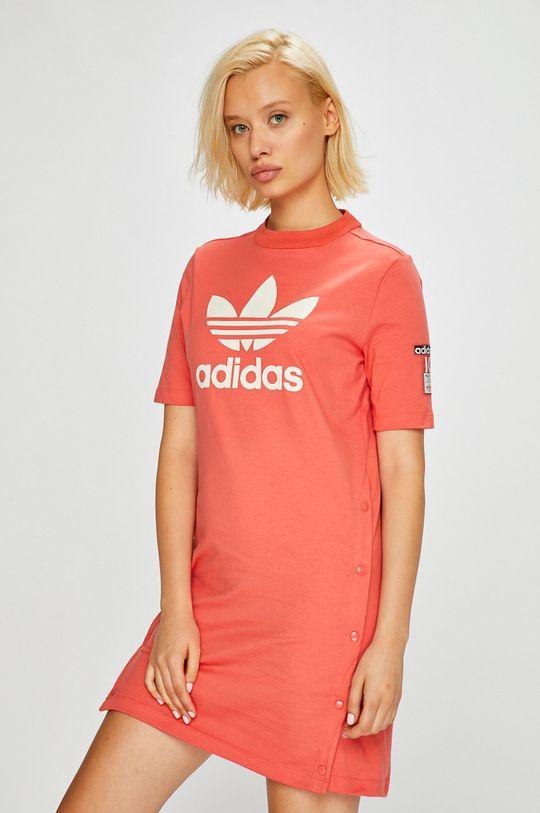 коралов adidas Originals - Рокля Жіночий
