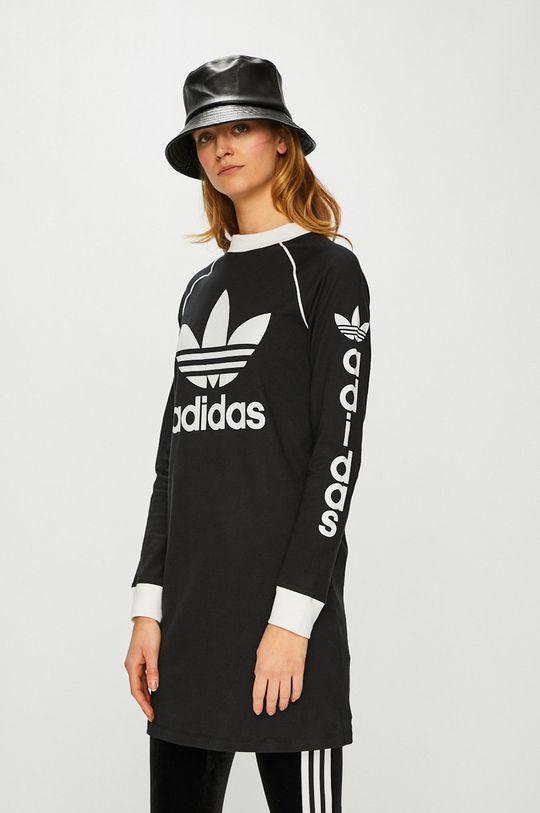 черен adidas Originals - Рокля Жіночий