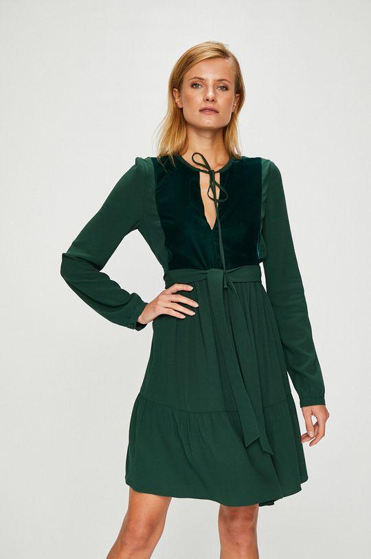 ocelová zelená Pinko - Šaty