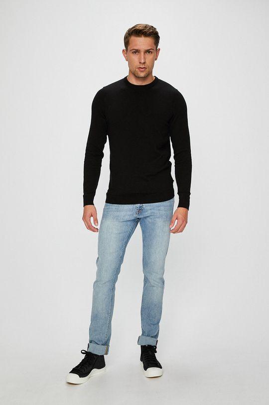 Jack & Jones - Sweter czarny
