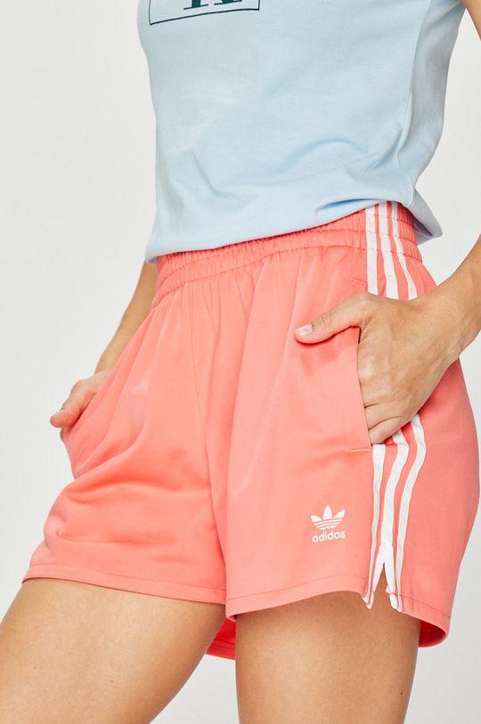 розов adidas Originals - Къси панталони Жіночий