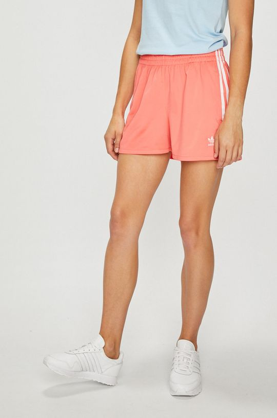 розов adidas Originals - Къси панталони