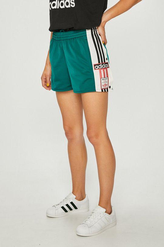 зелен adidas Originals - Къси панталони Жіночий