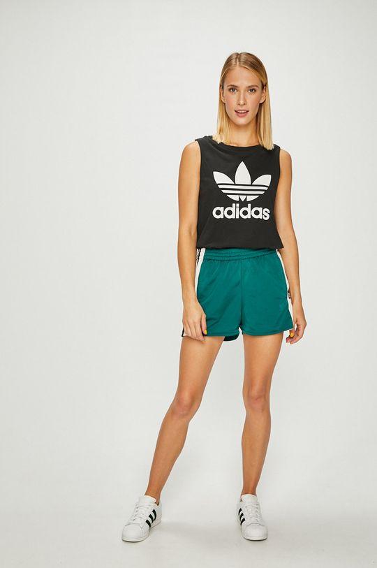 adidas Originals - Къси панталони зелен