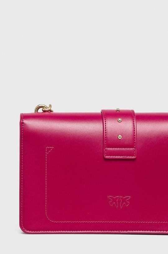 fuchsiová Pinko - Kožená kabelka