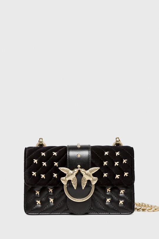 černá Pinko - Kožená taška Dámský