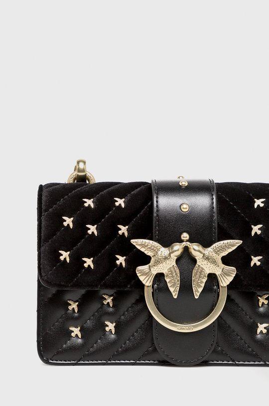 Pinko - Kožená taška černá