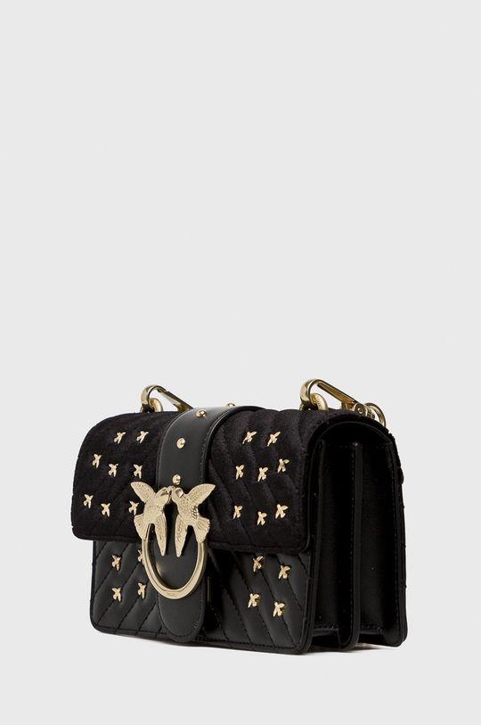 černá Pinko - Kožená taška