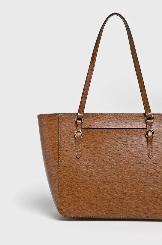 Lauren Ralph Lauren - Kožená kabelka Podšívka: 100% Polyester Hlavní materiál: 100% Přírodní kůže
