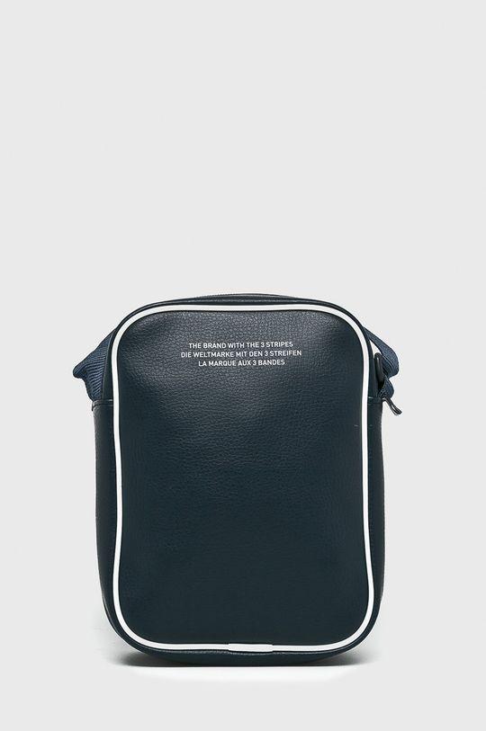 тъмносин adidas Originals - Чанта бъбрек