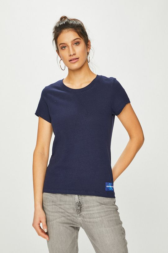 bleumarin Calvin Klein Jeans - Top De femei