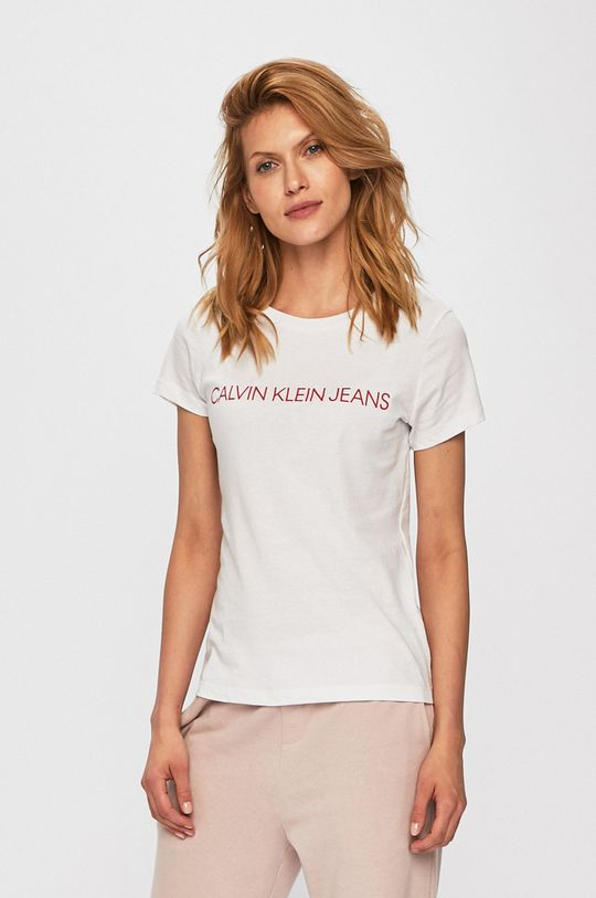 bílá Calvin Klein Jeans - Top