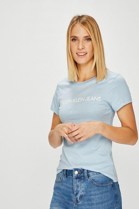 světle modrá Calvin Klein Jeans - Top Dámský
