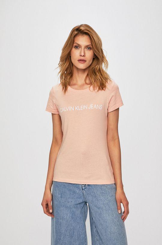 roz Calvin Klein Jeans - Top De femei