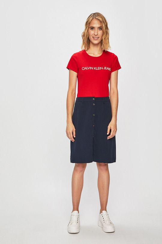 Calvin Klein Jeans - Top rosu