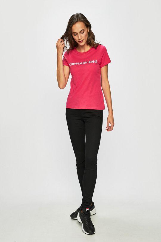 Calvin Klein Jeans - Top roz ascutit
