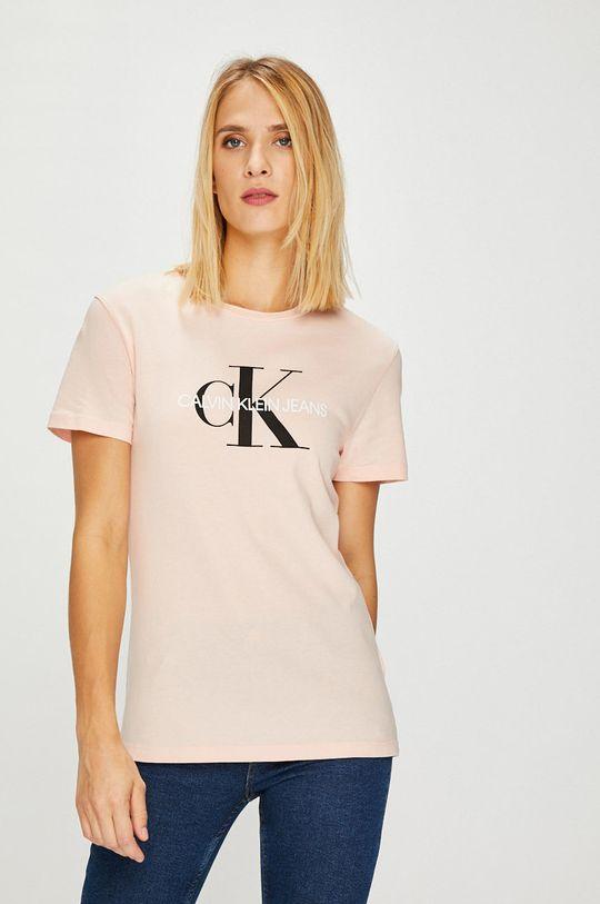 pastelově růžová Calvin Klein Jeans - Top