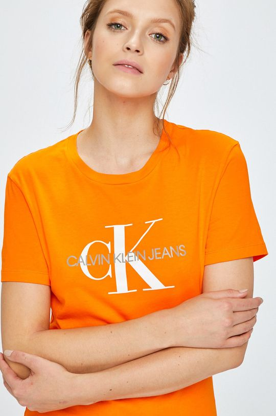 oranžová Calvin Klein Jeans - Top