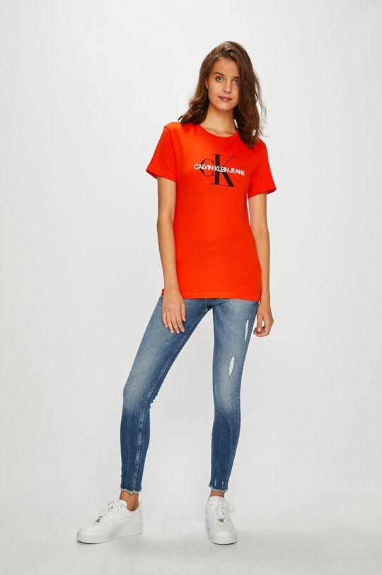 Calvin Klein Jeans - Top mandarin