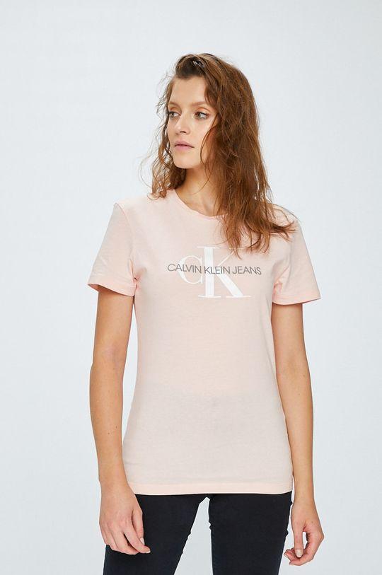 roz rosu Calvin Klein Jeans - Top De femei
