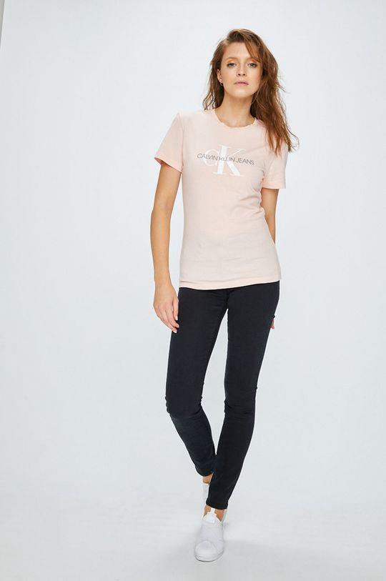 Calvin Klein Jeans - Top pastelová