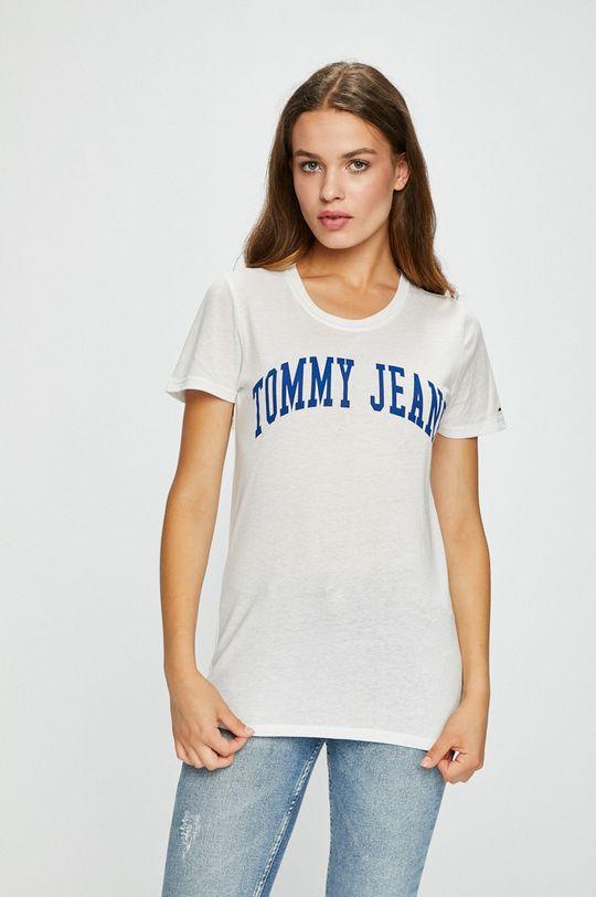 biela Tommy Jeans - Top Dámsky