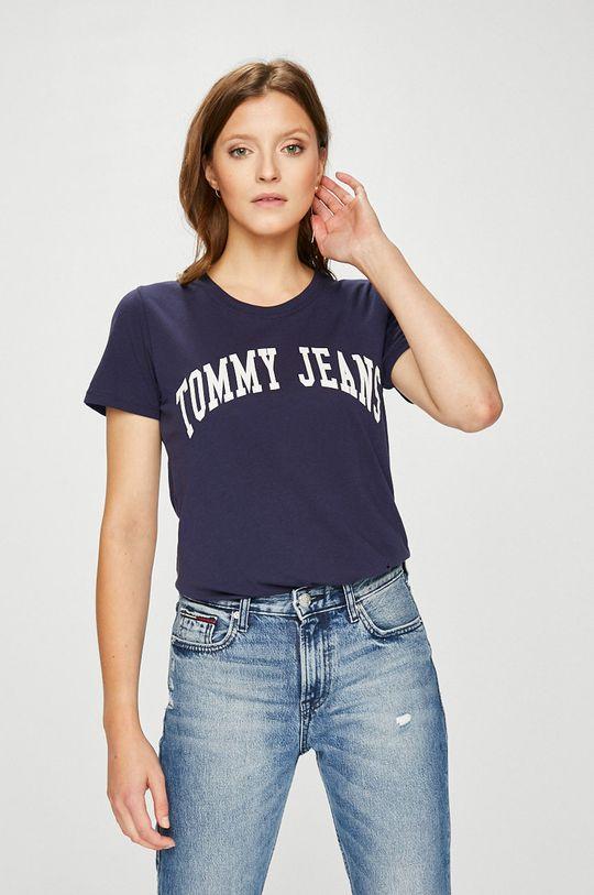 tmavomodrá Tommy Jeans - Top Dámsky