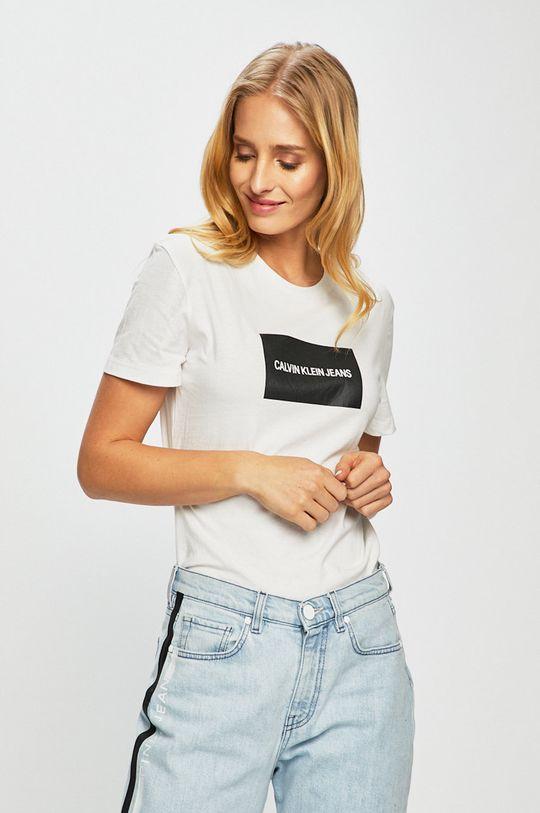 alb Calvin Klein Jeans - Top De femei