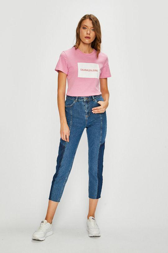 Calvin Klein Jeans - Top růžová