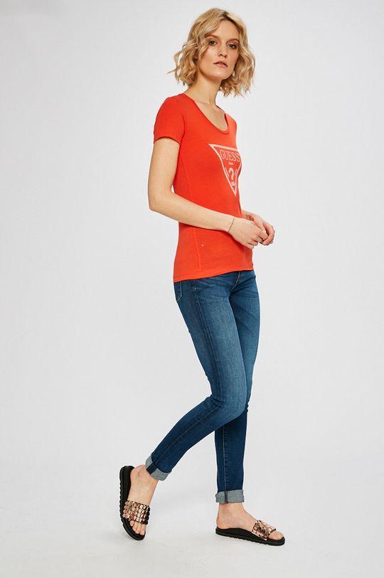 Guess Jeans - Топ мандариновий