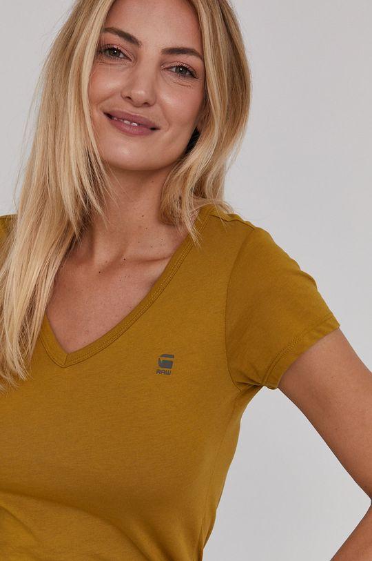 zielony G-Star Raw - T-shirt/polo D04434.2757