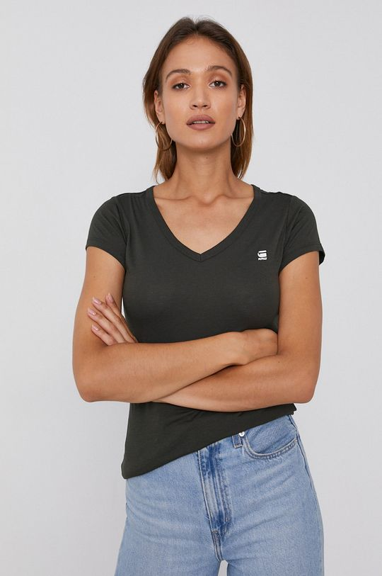 zielony G-Star Raw - T-shirt/polo D04434.2757 Damski
